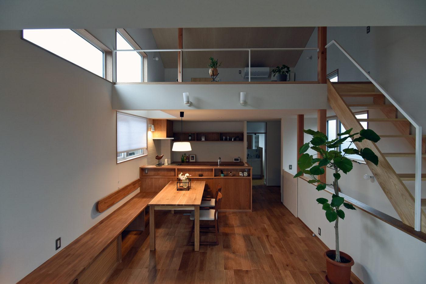狭小地のZEH住宅「黒埼の家F」