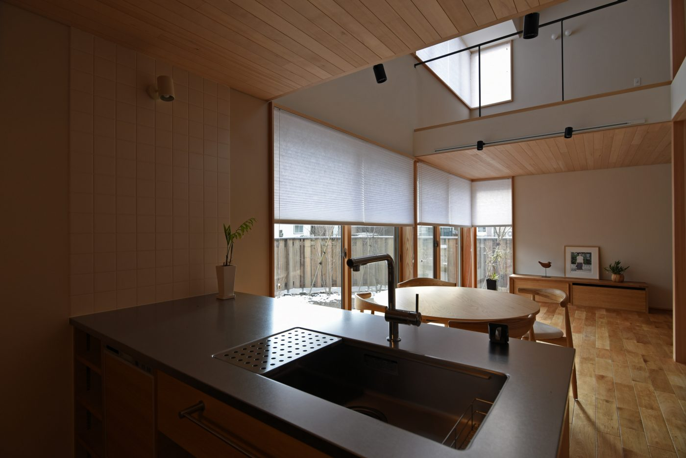 広がりのある暮らし「鳥屋野の家」