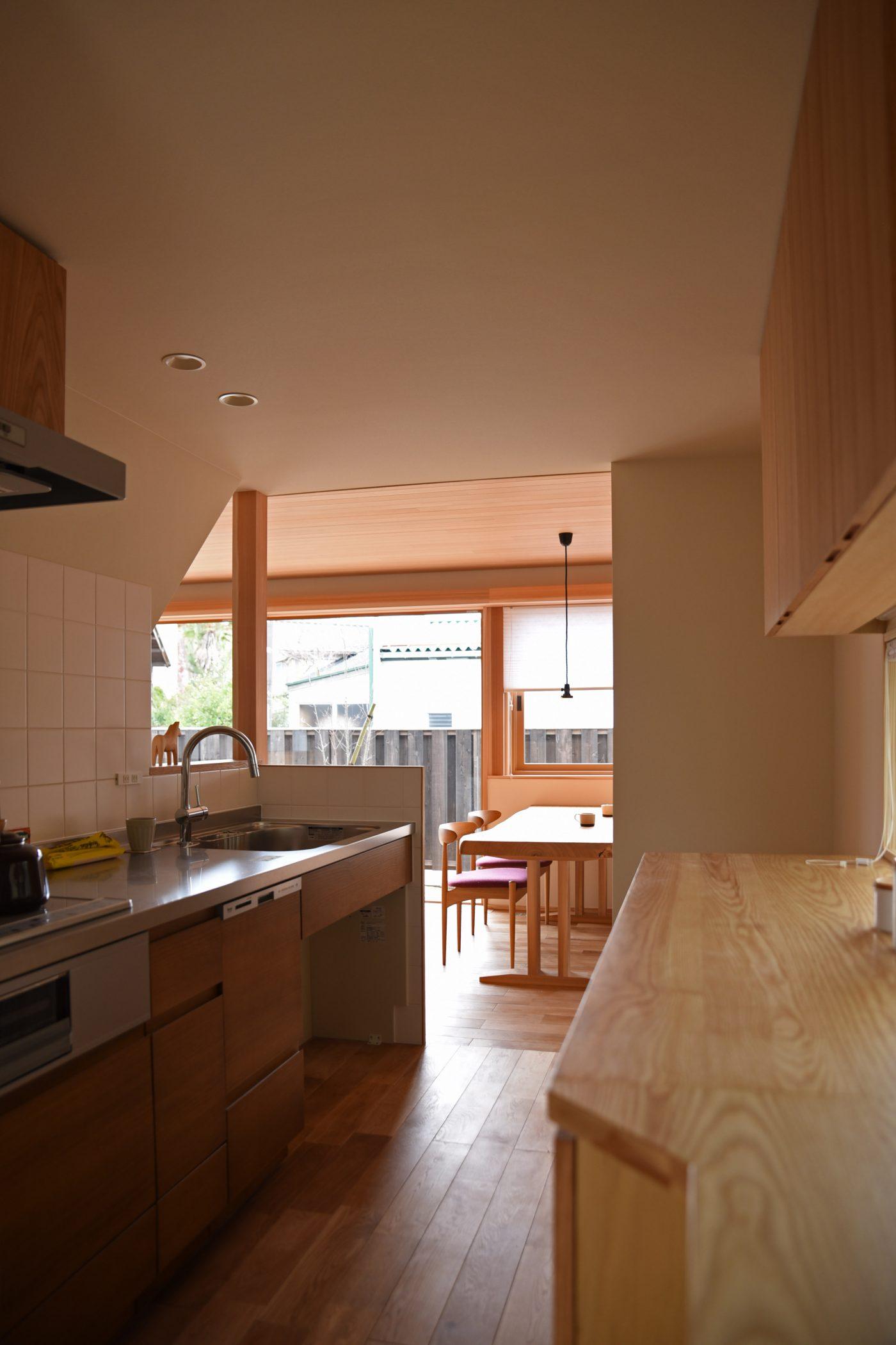 5人家族のためのベーシックハウス「小須戸の家」